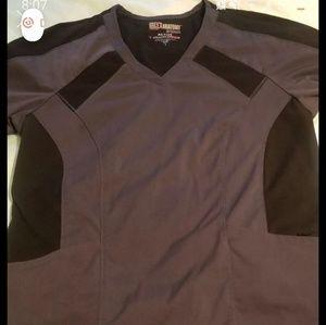 Grey's Anatomy Scrub Set.  Medium Pants Large Top